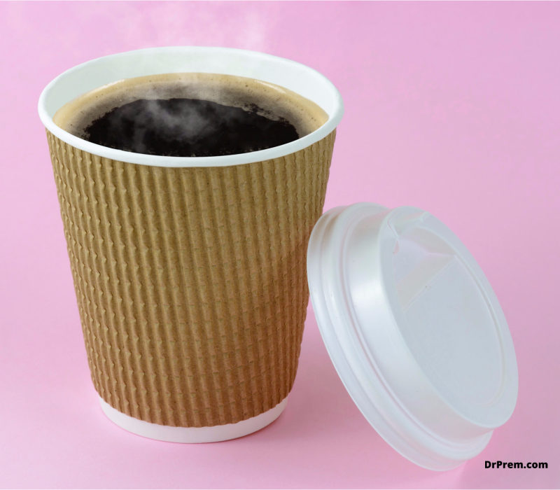 Prefer reusable containers for beverages