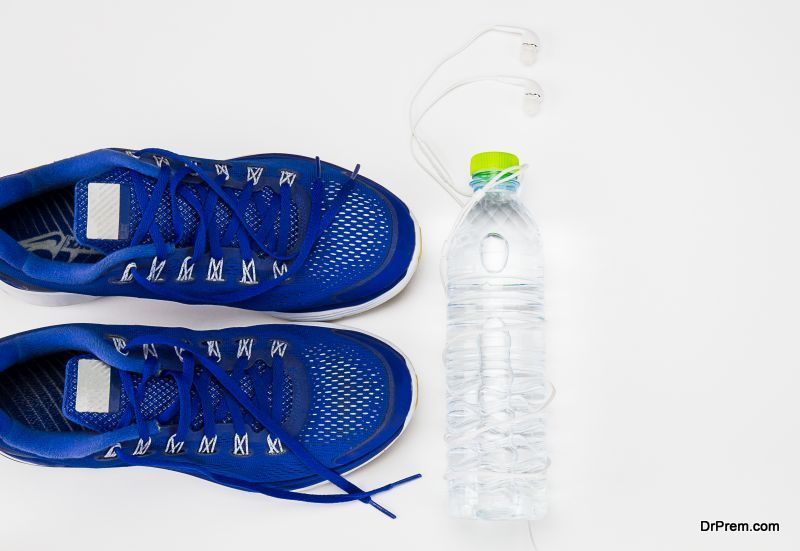 Shoe Range Made from Plastic Bottles