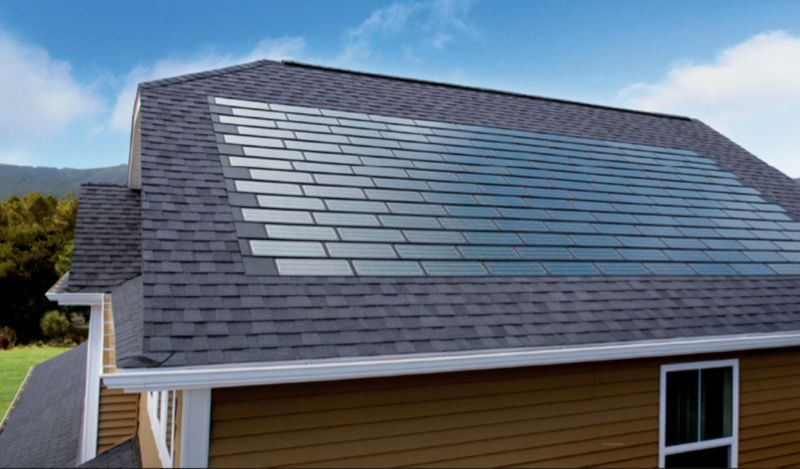 Solar tiles from Tesla