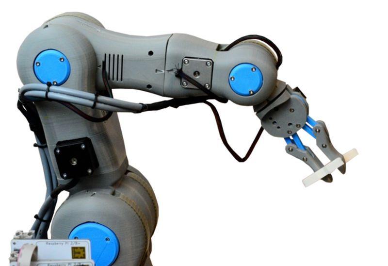 6 axe robot arm technology