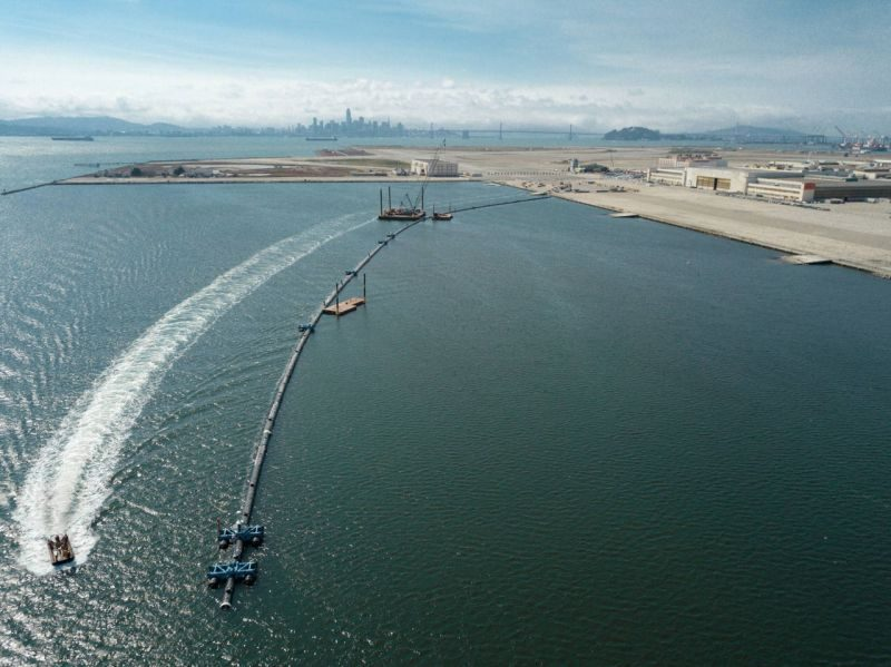 Ocean Cleanup system 001