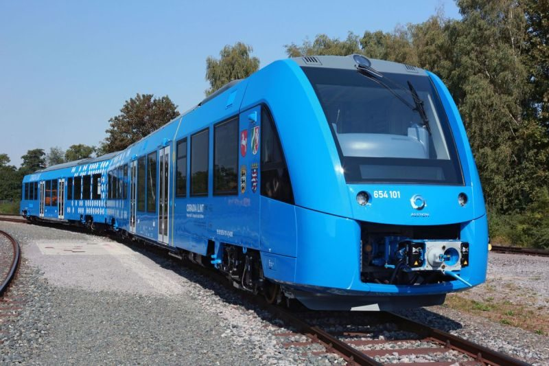 World's First Hydrogen powered train