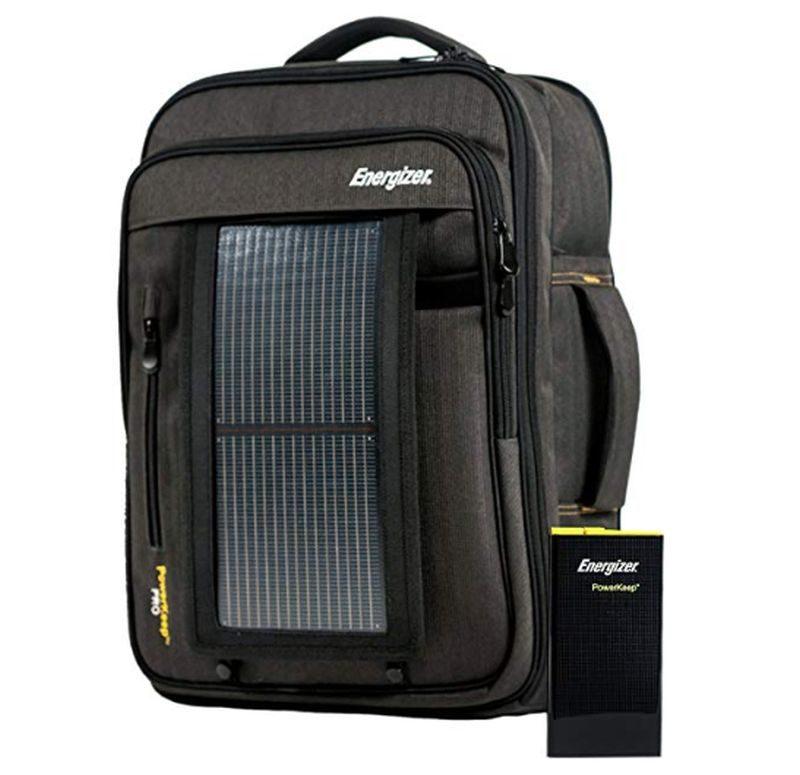 Energizer PowerKeep PRO Solar Executive Backpack