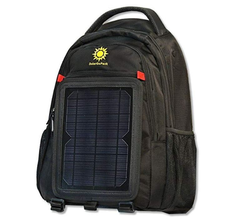 SolarGoPack Solar Powered Backpack