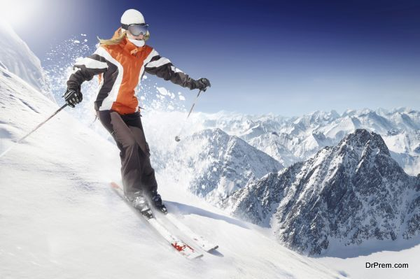 eco-friendly skiing and snow boarding