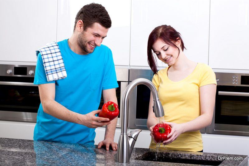 Rinse all vegetables and fruits before cooking