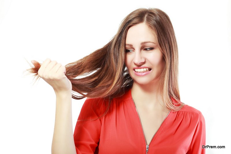 chemical reaction is very bad for  hair,