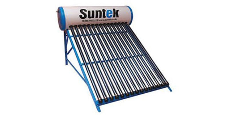 Suntek Energy metal solar water heater