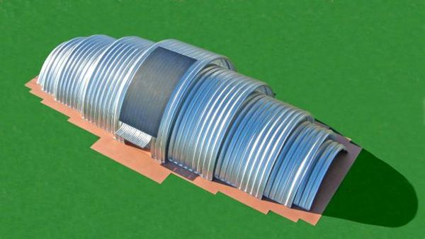 Eco Shell Multi-Use Building System