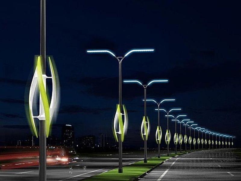 Eco-friendly streetlights for a green future