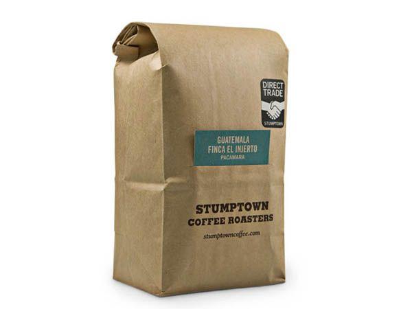 Stumptown Coffee packaging