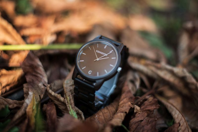 A Geppetto wooden watch lets you care for the nature