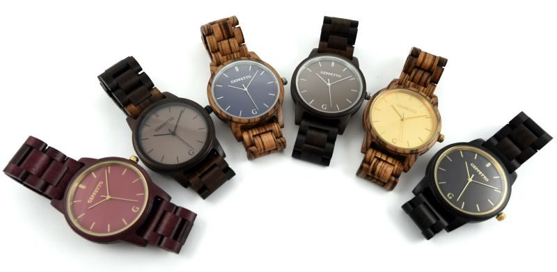 Geppetto wooden watches are as affordable