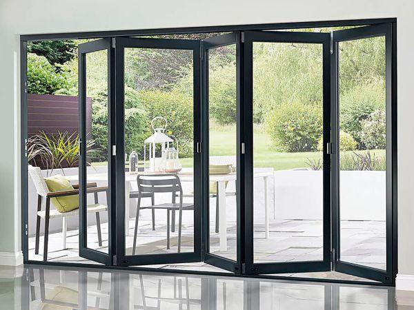 Bi-fold French doors