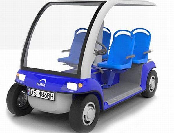 Elipsa electric utility vehicle