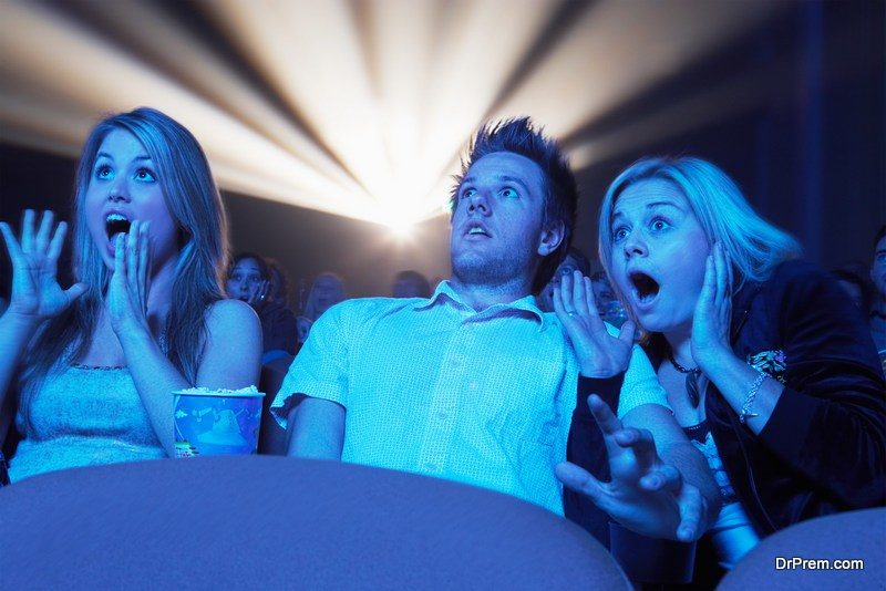 Movie theaters need a lot of electricity to run