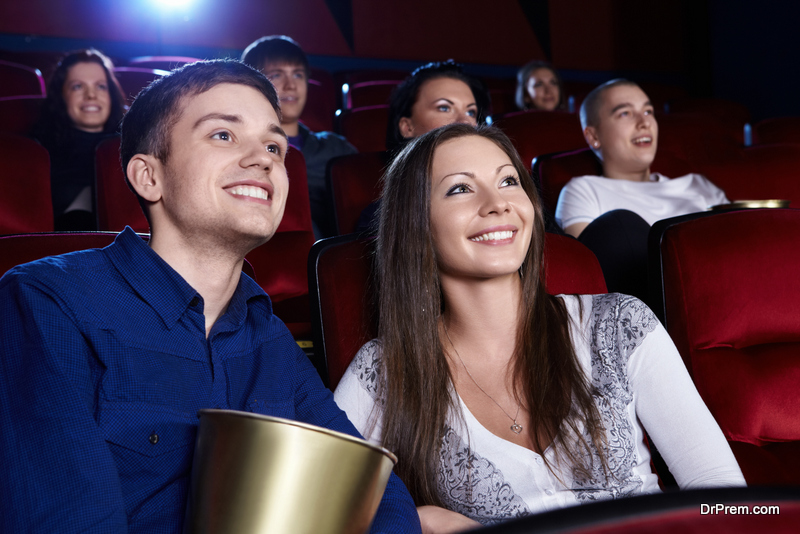 make movie going experience more sustainable