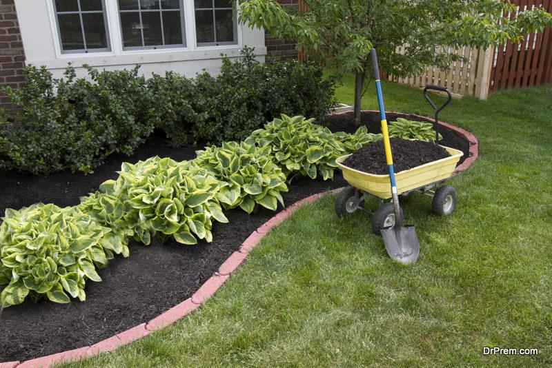 Add layers of mulch