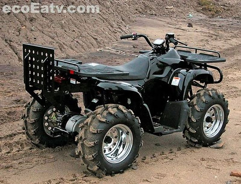 Eco Electric ATV's E-FORCE cuts emissions and noise