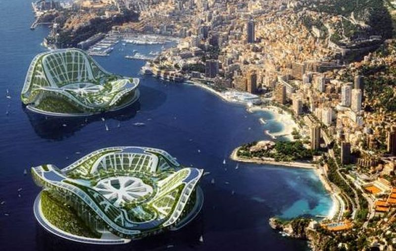 Floating sustainable cities