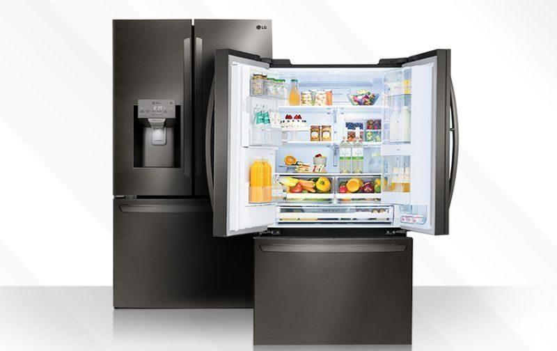 LG PANORAMA French Door Refrigerator