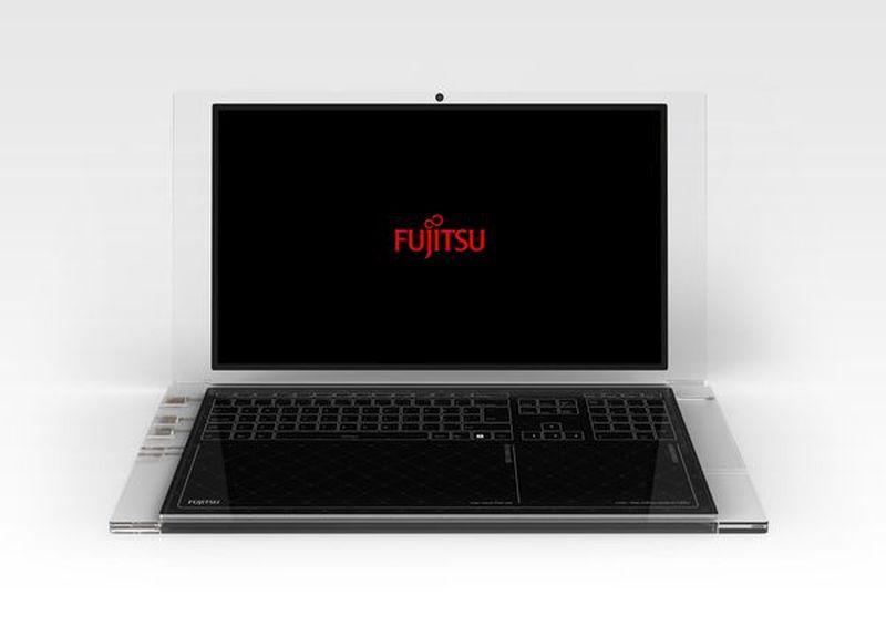 Luce solar-powered laptop concept