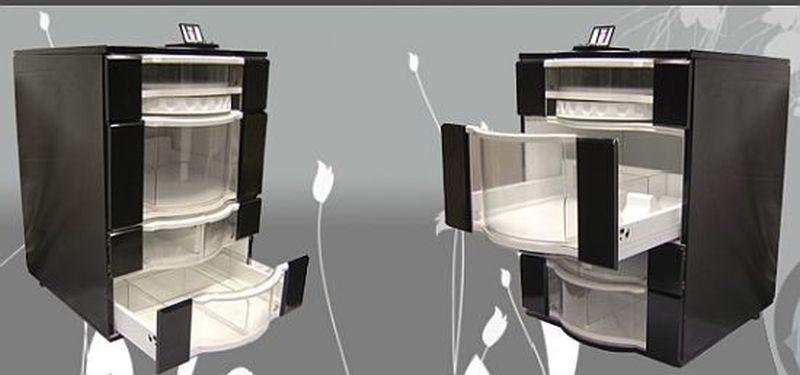 Oceania Fridge designed by Tez Patel