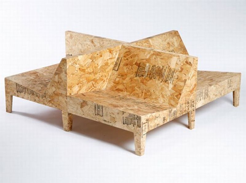Recycled Furniture Made from Undesirable Materials