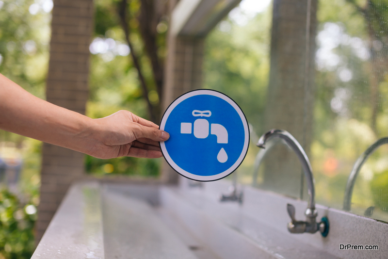 water-saving tips to prepare for a drought
