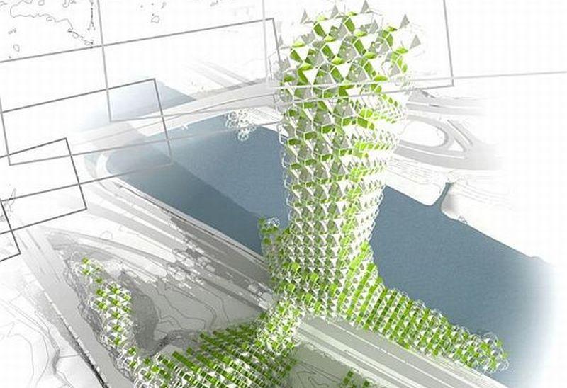 Eco-friendly vertical farming