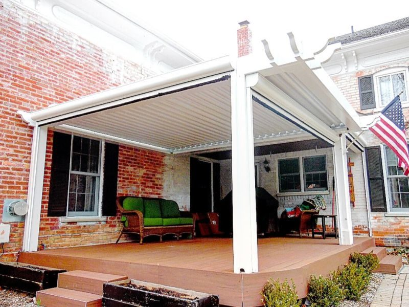 LOUVERED ROOF SYSTEM
