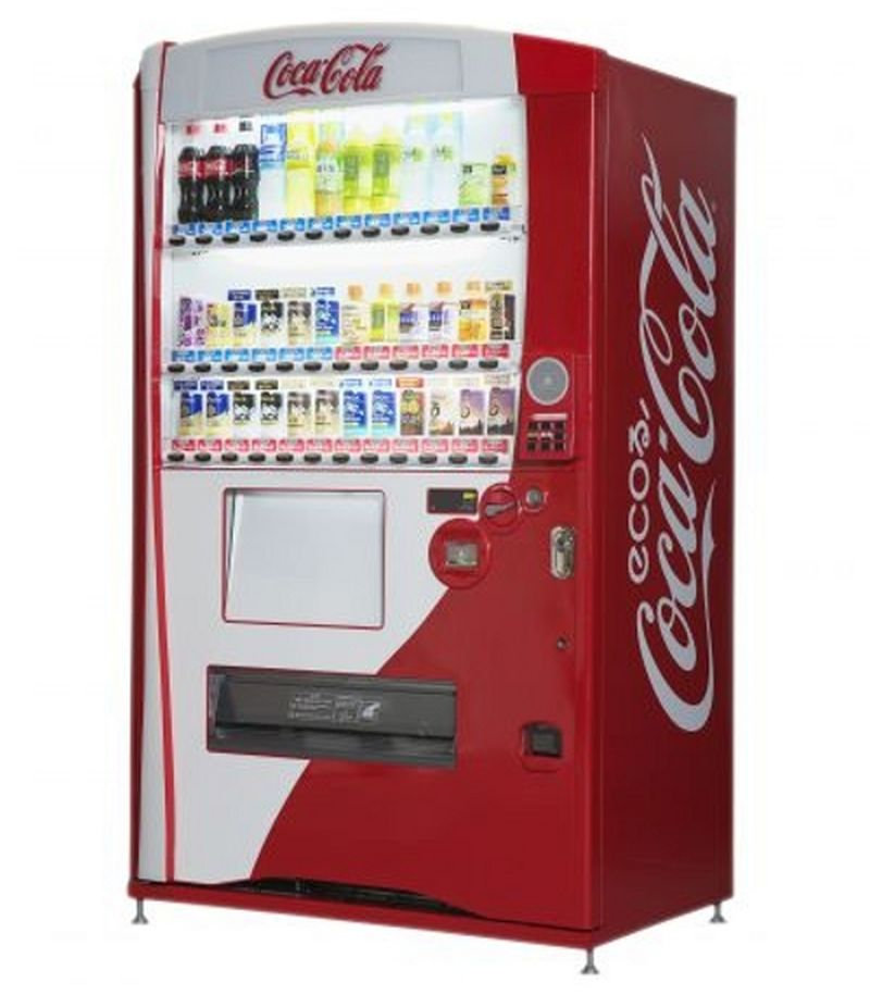 New 3D vending machines