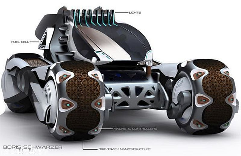 electric vehicles designed for the year 2050