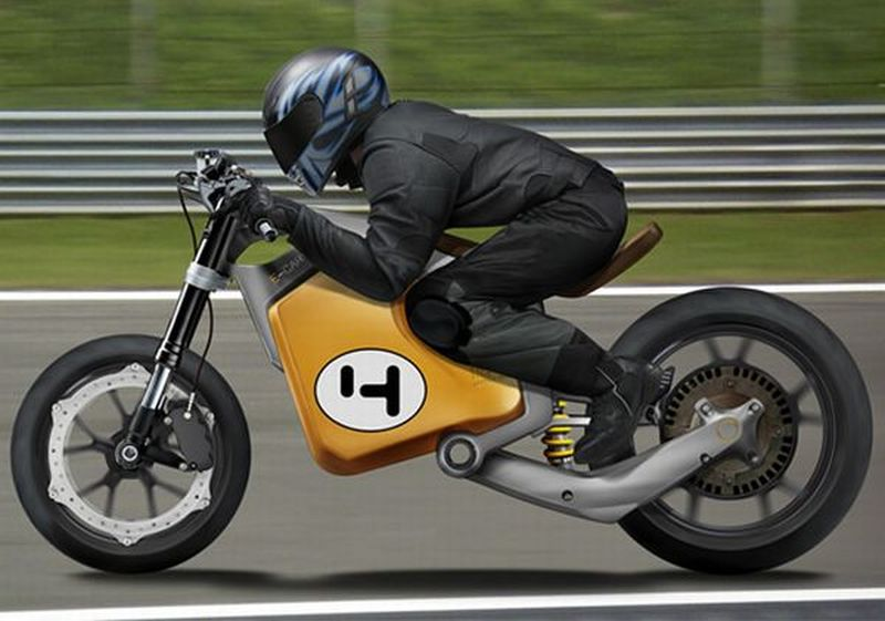 environmentally-friendly electric motorcycle concepts