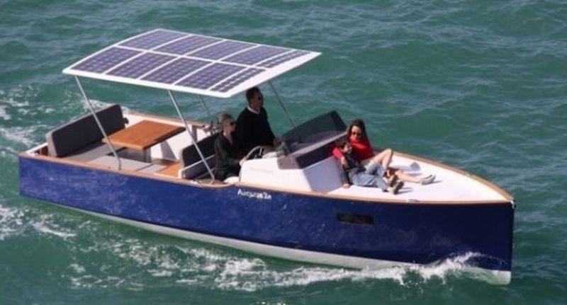 Aequus Boats unveil Aequus 7.0 solar-electric boat