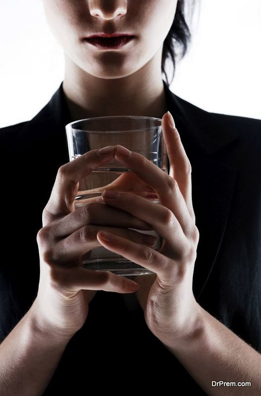 avoid drinking regular tap water