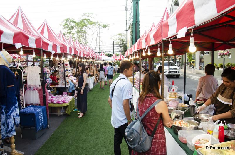 local Thailand market