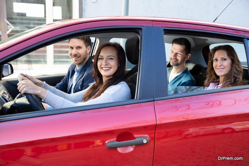 Use carpooling to travel