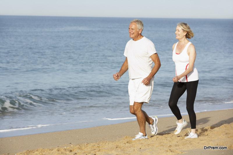 walking stimulates endorphins production