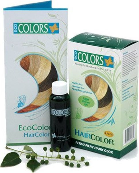 Ecocolors permanent hair dye