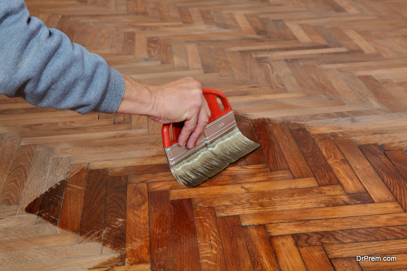 Fill the gaps between your floorboards