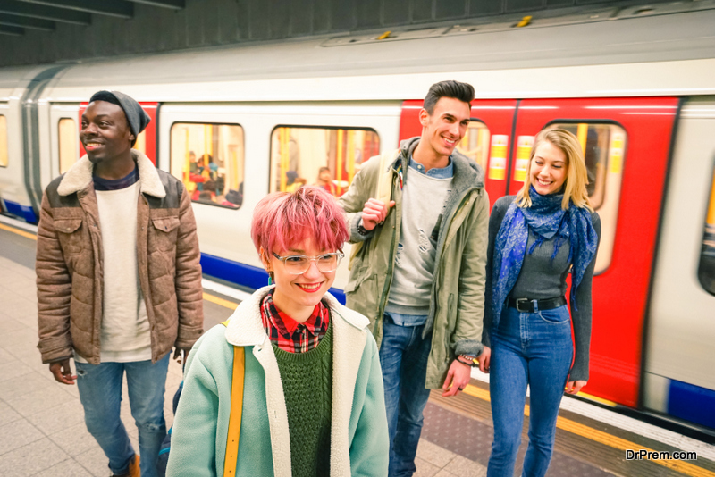 Start using public transport
