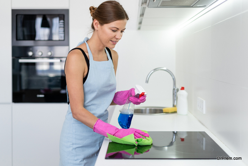 Use natural cleaning agents