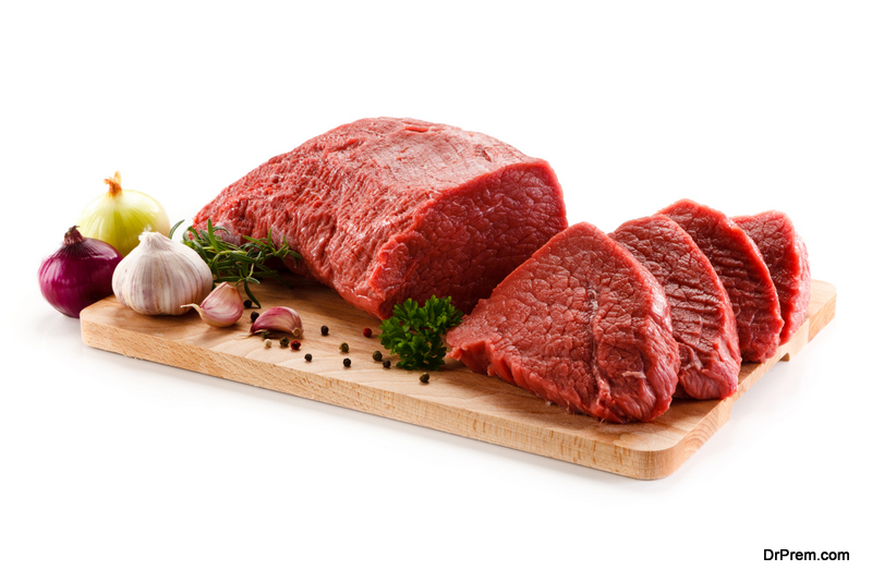 meat ought to be bright red