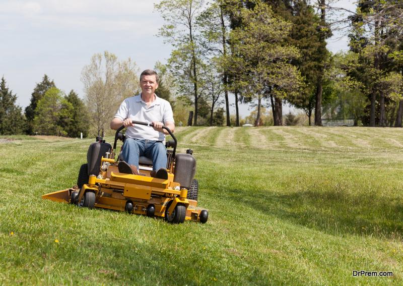 Get a Zeroturn Lawn Mower