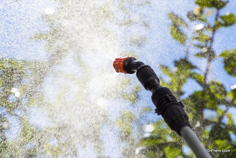 Homemade sprays