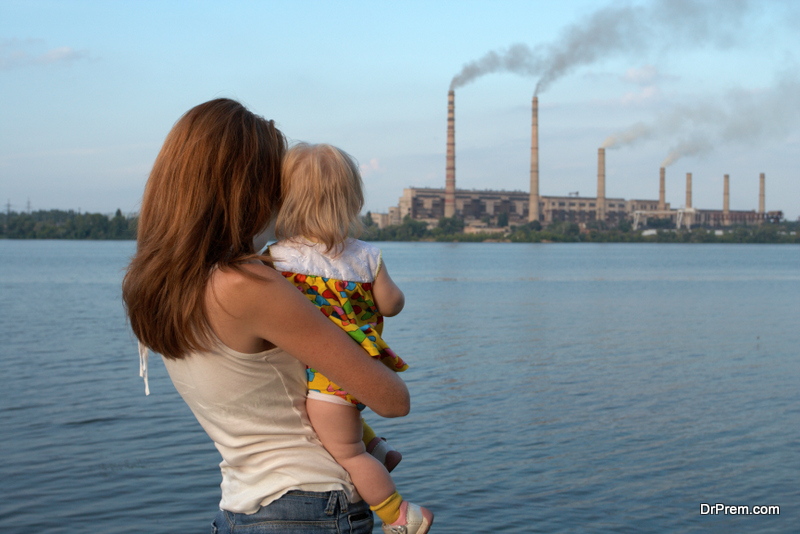 Outdoor air pollution reduces average life