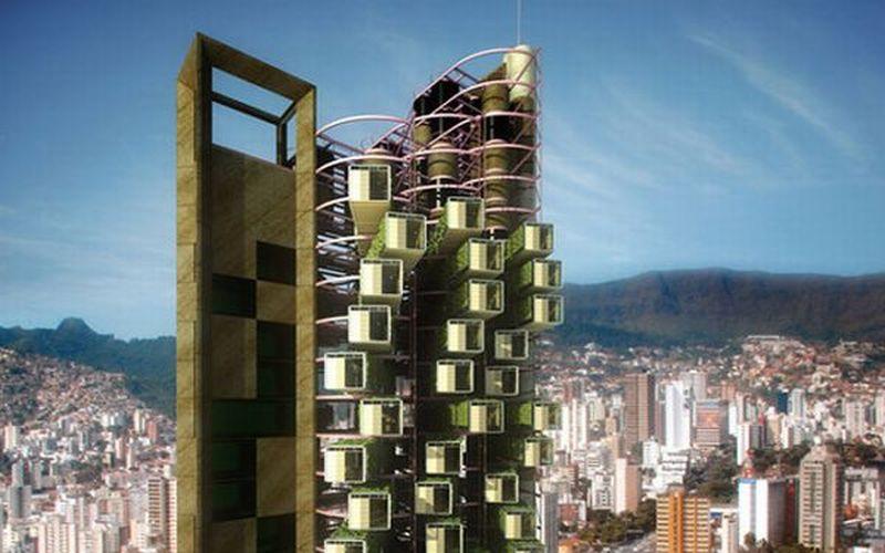 Felipe Campolina's portability skyscraper