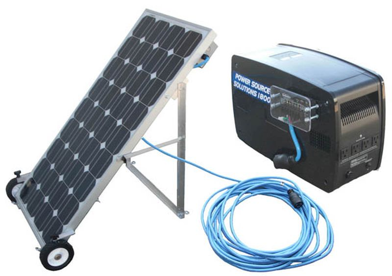 Household solar generator system