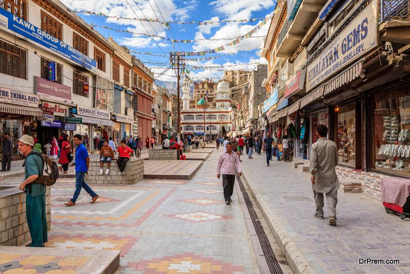 Leh, Ladakh, India,